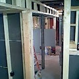 Framing and construction of Germantown Animal Hospital - 02-14-07_2002.jpg