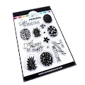 Preppy Pineapples Stamps