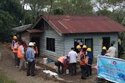 Siswa SMK Negeri 1 Bener Meriah Rehab 2 Rumah Warga Dhuafa