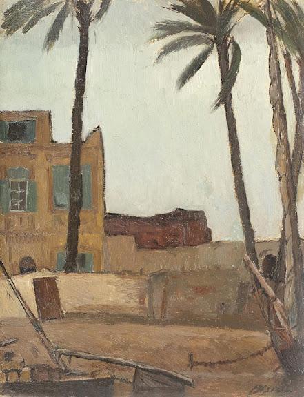 Leon Biju - Peisaj din Alexandria