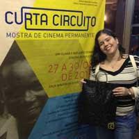 Amanda Aouad no CurtaCircuito - 2015