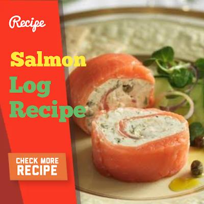 Salmon Log, Raspberry Ice Cream, Maple Peanut Balls Recipe