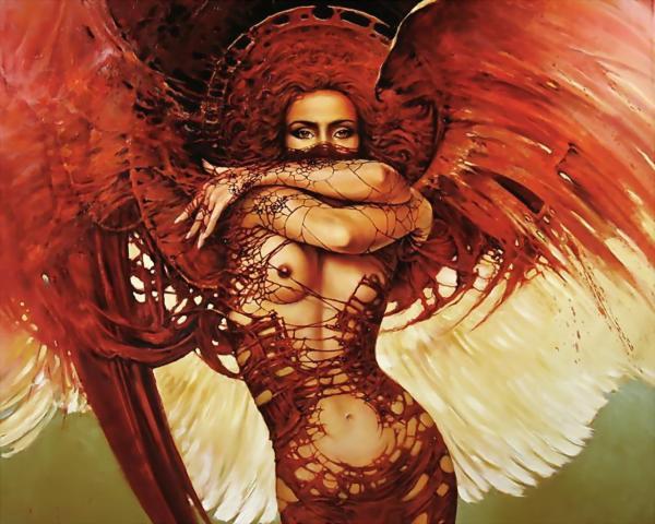 Girl In Red Fantasy, Magic Beauties 2