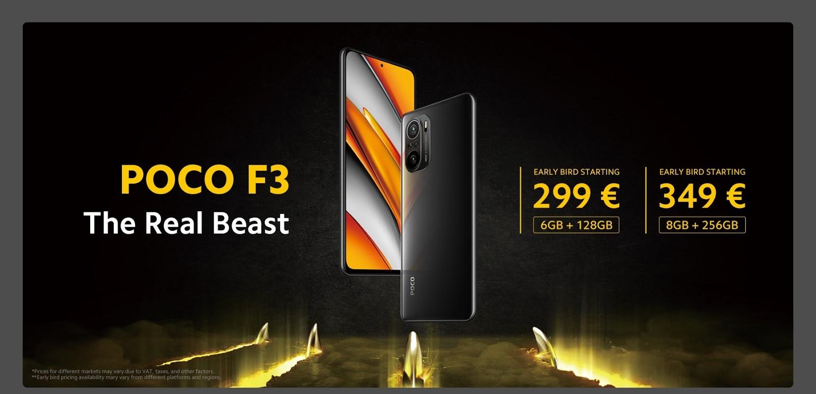 เมื่อพลังปะทะกับความเร็ว POCO เปิดตัวสมาร์ทโฟนแฟลกชิปสองรุ่นใหม่ล่าสุด POCO F3 ที่สุดแห่งพลังความร้ายกาจ และ POCO X3 Pro สเปคแรงโดนใจกว่าเดิม มากกว่าที่คุณต้องการ