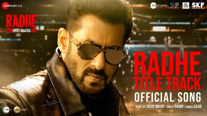 Radhe Title Track song Lyrics - Salman Khan & Disha Patani | LYRICSADVANCE