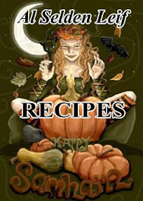 Cover of Al Selden Leif's Book Pagan Samhain Recipes