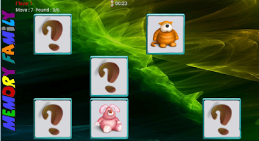 Screenshot of Memory Family