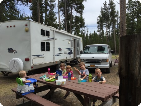 RV in West Yellowstone, MT