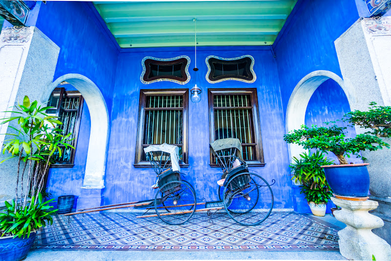 Penang Cheong Fatt Tze Mansion (Blue Mansion) rickshaw6