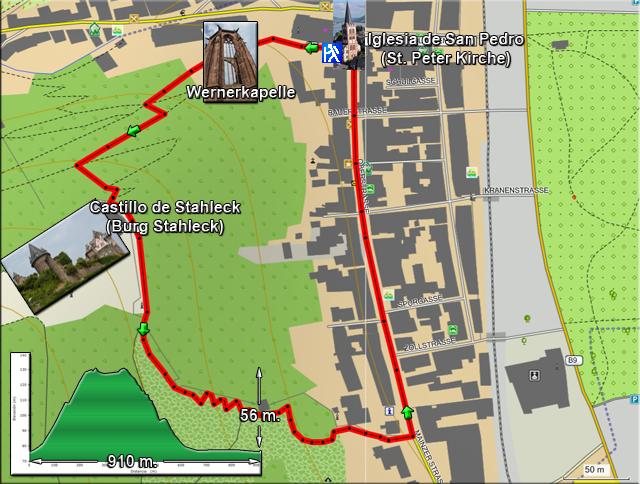 Recorrido Circular al Castillo de Stahleck