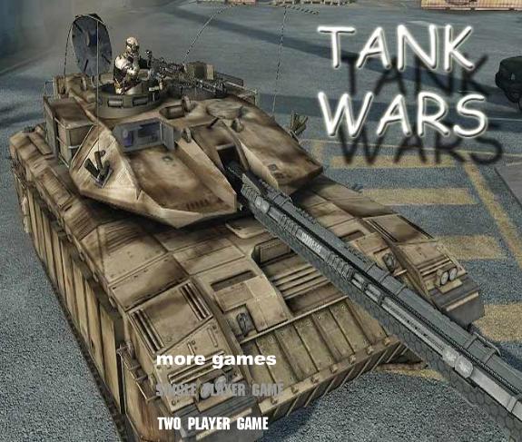 Tank wars online flash games