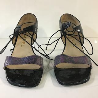 Chanel High-Heel Sandals