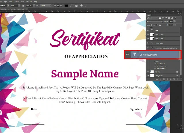 Cara Menggunakan Sertifikat PSD Adobe