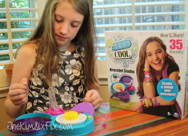 DIY kids craft bracelets