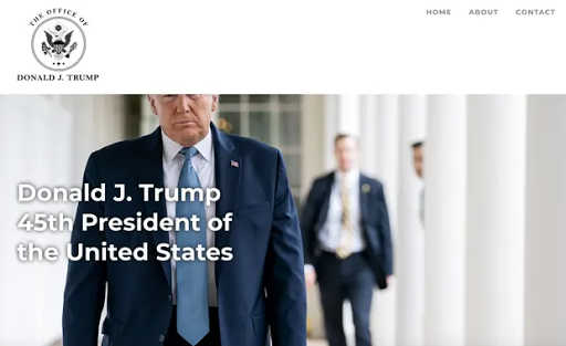 يستخدم دونالد ترامب موقعًا إلكترونيًا جديدًا لإعادة كتابة تاريخ رئاسته