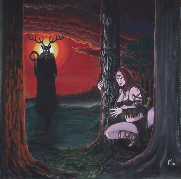 Cernunnos A Princezna, Celtic And Druids