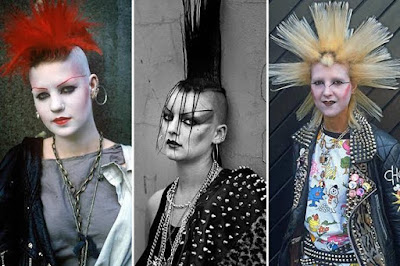 London Punks girls between 1978 and 1980