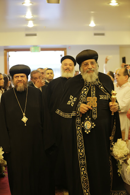 His Holiness Pope Tawadros II visit to St. Mark LA - _09A9040.JPG
