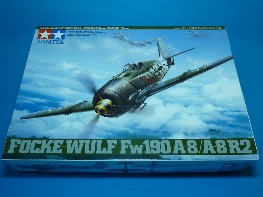 FINALIZADO 24/6 - Focke Wulf Fw 190 A-8 Tamiya 1:48 P1040589