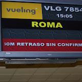 Recogida de la Cruz de la JMJ 2011  en Roma