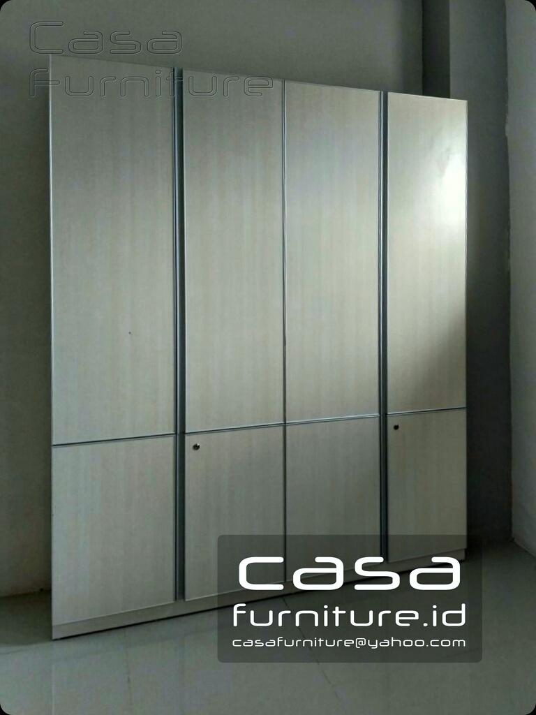 Lemari Di Mushola ITC BSD Furniture Minimalis Tangerang