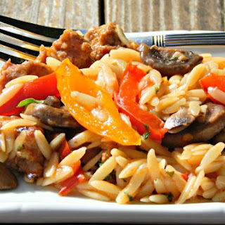 Orzo Hearty Potluck Pasta Salad