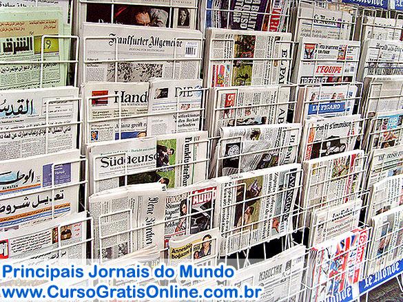 Principais Jornais do Mundo
