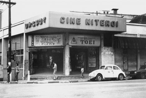 Brasil, São Paulo, SP, 29/05/1987. Cine Niterói, localizado na Avenida Liberdade, bairro do mesmo nome, na região central da cidade. Foto: Norma Albano/AE Pasta: 17000 (Bairro da Liberdade) Contato: 08.108.04 Negativo: 87-1182.1