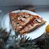 Pizza z białym serem 30 cm bez drożdży
