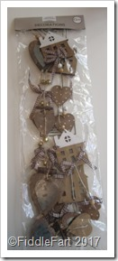 Aldi Wooden Hanging Christmas Decoration