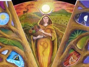 Goddess Tailtiu Image
