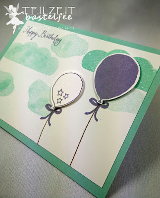 Stampin' Up! - Workshop, Balloon Celebration, Partyballons, Stanze Luftballon, Punch Balloons, Birthday