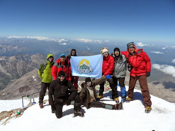Восхождение на Эльбрус с Запада