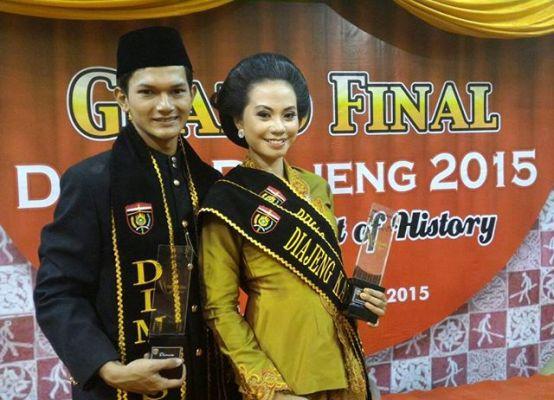 Pariwisata ngawi: Gilang Maulana dan Sophia Utami jadi finalis Dimas Diajeng Ngawi 2015
