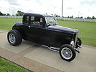 1932 FORD (ALL STEEL)5 WIND COUPE RESTO-ROD COLD A/C NEW BUILDhot-rod  (all-new)