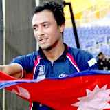 ICC WT20 Qualifier: Hong Kong vs Nepal, Photo: Raman Shiwakoti