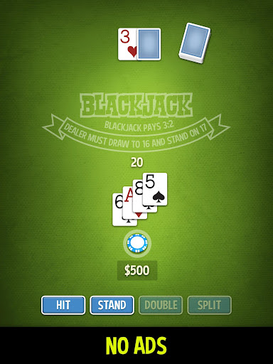 Blackjack 21 - ENDLESS & FREE 1.0.7 Mod screenshots 1