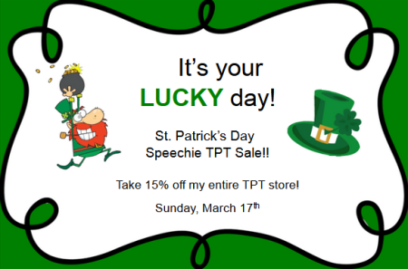 St. Patrick's Day Sale icon