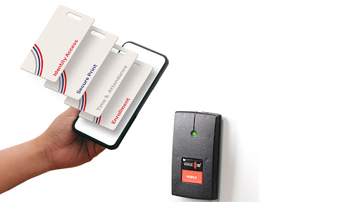 WAVE ID® Mobile for HID® Mobile Access (Graphic: Business Wire)