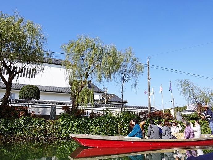 22日本九州自由行 日本威尼斯 柳川遊船  蒸籠鰻魚飯  みのう山荘-若竹屋酒造場