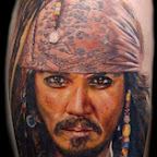 arm Pirates of the Caribbean - tattoos for men