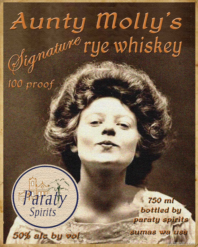 Aunty Molly's Signature Rye Whiskey