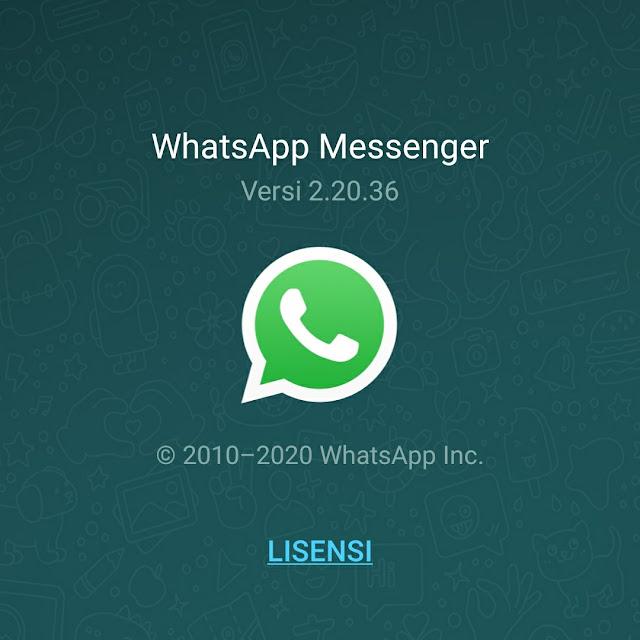 WhatsApp Messenger 2.20.36 beta