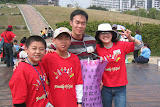 Jarod and Jaclyn with kids from the Yonghe church