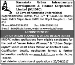 KUIDFC-Advertisement-2017-www.indgovtjobs.in