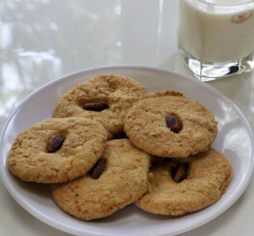 Eggless Coconut Cookies Recipe