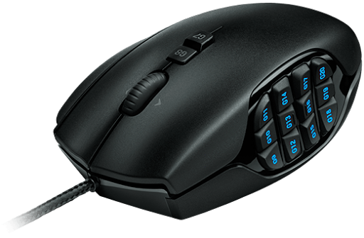 Harga Logitech G600 MMO Gaming Mouse Juni - Juli 2016