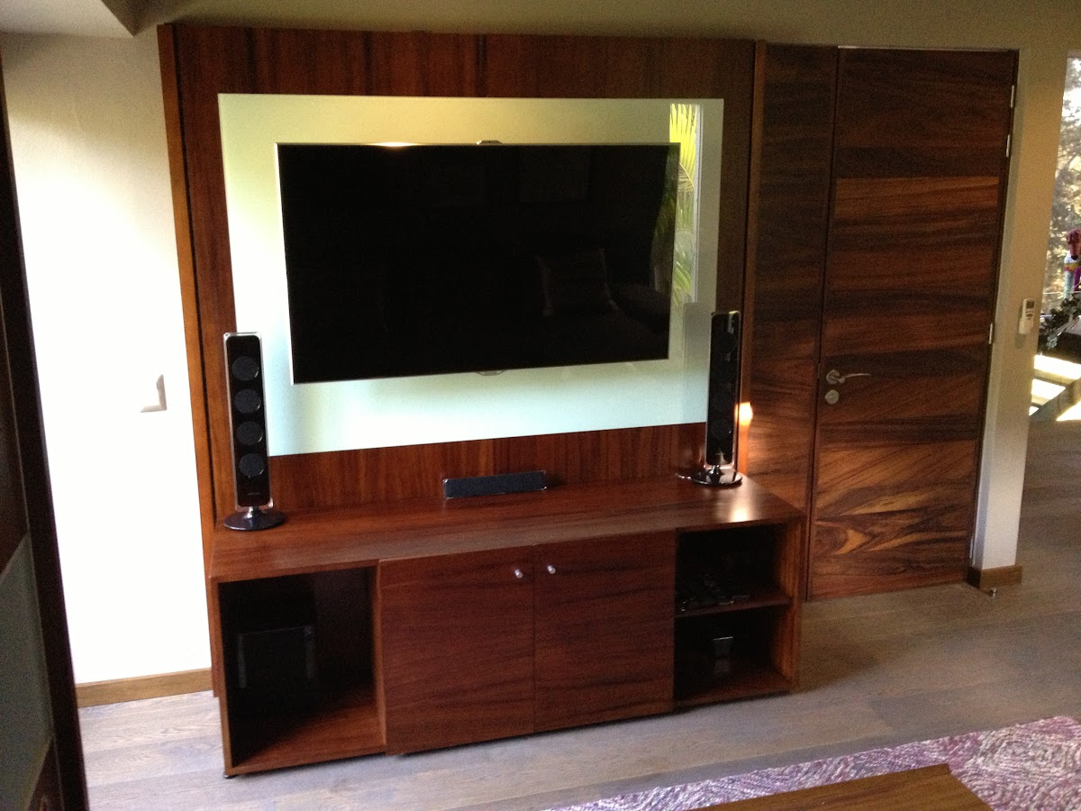 Muebles para TV Minimalistas  Closets Orbis