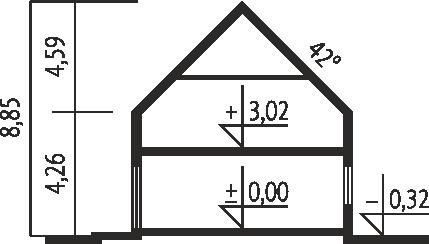 E5 G1 ECONOMIC wersja B - Przekrój