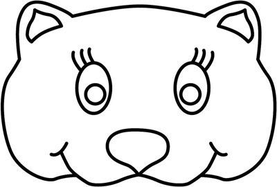 mascara de animales  para colorar (113)_thumb